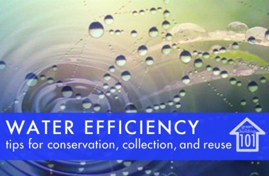GREEN BUILDING 101: Water Efficiency, Both Inside and Outside the Home