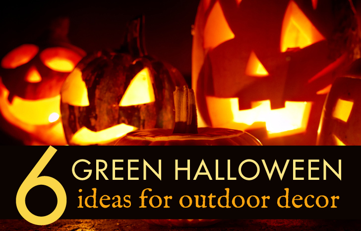 6 green outdoor halloween decorations to spookify your home this season inhabitat green design innovation architecture green building - Outdoor Halloween Lights