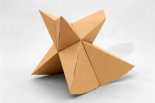 Foldschool, origami, cardboard, cardboard furniture, kids furniture, children's furniture, children, Nicola Enrico Stäubli, Nicola Staubli, Staubli, origami furniture, DIY, How-To