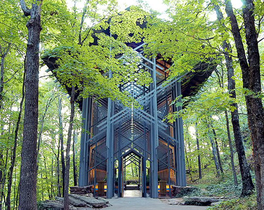 thorncrown chapel, arkansas, eureka springs, american institute of architects, sustainable building, sustainable design, national register of historic places, ecological architecture, environmental architecture, green building, sustainable architecture, green architecture