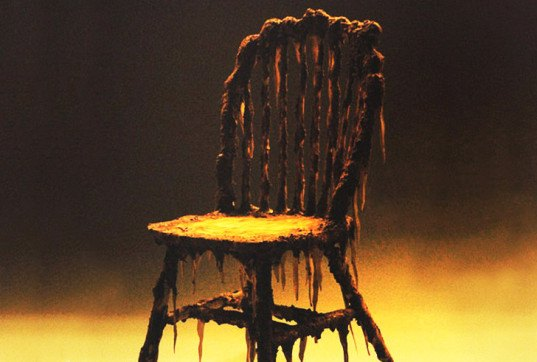 Zombie Melting Chair
