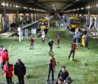 New Zealand Train Station Transformed Into Green Meadow