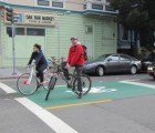 San Francisco's First Bike Box Gets Stenciled!