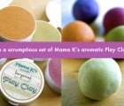 Win an Exclusive Collection of Mama K's Aromatic Play Clay Valued at $105!