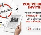 Join Thrillist and Win a Kindle DX Worth $489!