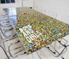 Amazing LEGO Table Would Make Even the Most Boring Meeting Fun