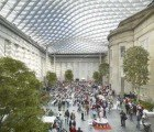 The Smithsonian's Vaulted Canopy Brings Nature and Light Inside