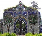 Beautiful Garden Chapel Made Almost Entirely From Bottles