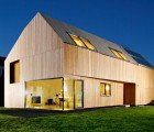 Gorgeous Wood-Clad German Home with Near-Passive House Performance