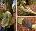 JakPak is a Jacket, Tent and Sleeping Bag All-In-One
