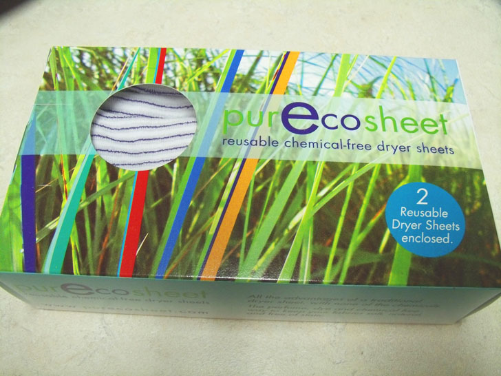 Vegan, eco-friendly, reusable dryer sheets that also eliminate static cling.