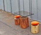 Urban Log Furniture Gives Felled Trees a Second Life
