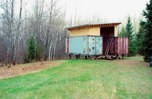 Holyoke Cabin is a Beautiful Shipping Container Home