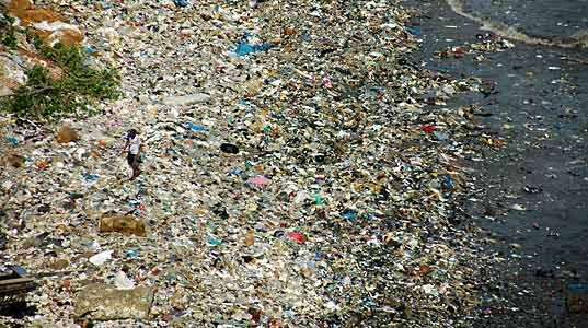 The Ocean Is Filled With Eight Million Tonnes Of Garbage Enough To Fill Five Carrier