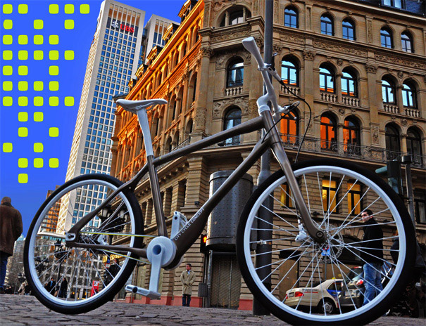 bike, urban, yanko design, pedelec system, Christian Vollmer, electric bike