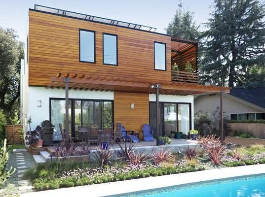 eco residence, xeriscaping, ENERGY STAR, solar passive design, green home, green residence, rainwater collection, los angeles, wick architecture, sustainable building, green design, eco design, build it green, energy star, daylighting, natural ventilation
