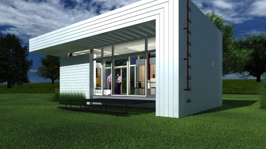 nano living systems world s smallest sustainable house