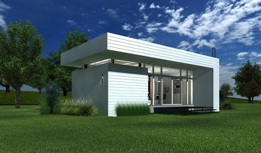 World s smallest sustainable house can fit a family of four nano living system inhabitat - Nano homes small spaces for big sensations ...
