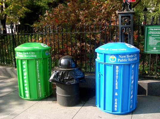 new york city, nyc, recycling, recycling program, recycling update, recycling initiative, plastic, plastics recycling, recycling drop off locations, household hazardous waste, clothing collection, bloomberg, green design, eco design