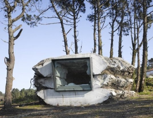 Tiny Hut In Spain Built With Concrete And A Cow