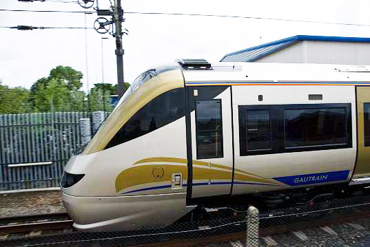 gautrain, south africa, south african high speed rail, high speed rail, hsr, alternative transportation, green transportation, africa, green design, eco design