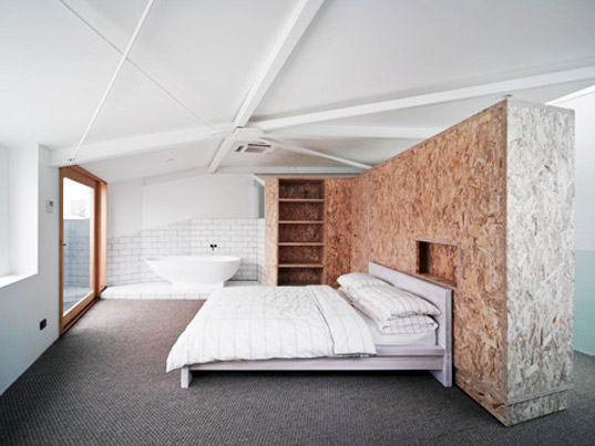 Chubby House, Edwards Moore, Raumplan, Adolf Loos, Sustainable architecture, interior design, green design, continuous living space, Melbourne, Australia