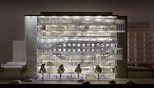 Glass facade architecture  FIT To Get Glittering Translucent Facade | Inhabitat - Green ...
