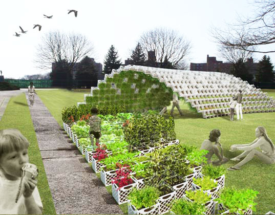 Living Pavilion: Green Walled Garden Wave Coming to Governors Island | Inhabitat - Green Design ...