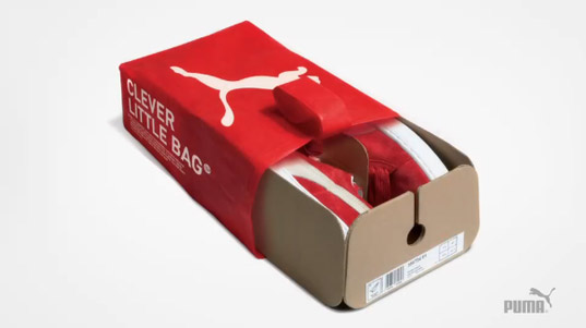 fuseproject, PUMAVision, Yves Behar, PUMA, eco-friendly packaging, eco-friendly shoes, green packaging, green shoes, green puma, sustainable puma, innovative package design, green package design, sustainable package design, product packaging,