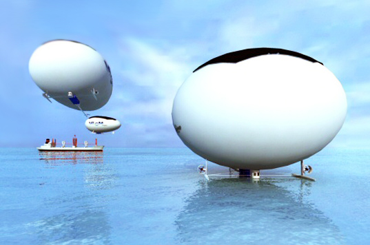 High Speed Solar Airship, sustainable design, green design, green transportation, solar power, solar blimp, green aviation, efficient transportation, cargo blimp
