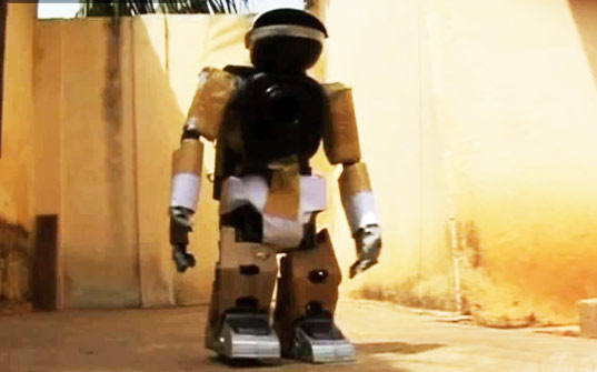 recycled materials, togolese student, togo, sam todo, sam10, recycled robot, robot made from tvs, student makes robot from tv parts, upcycling, robots, recycling, green design, africa, sustainable design, eco design
