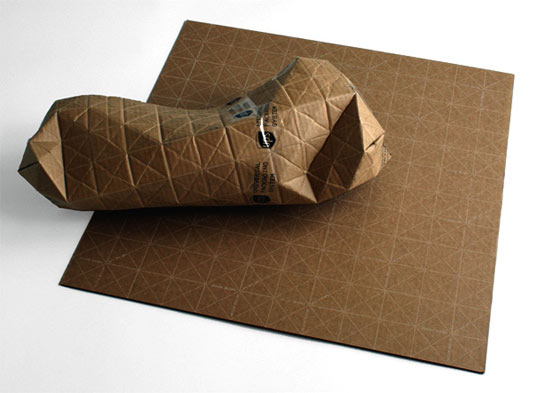 sustainable design, green design, UPS, packaging, green, eco, cardboard, paper, shipping, is it green, sung