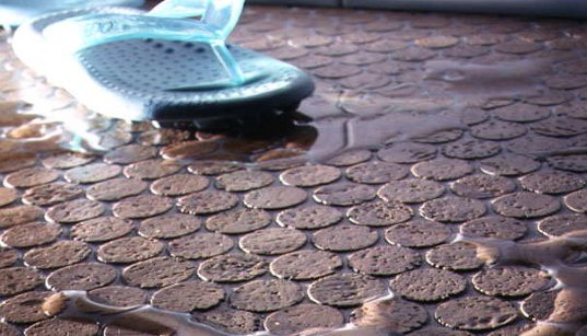 Recycled Wine Corks Make Stylish Penny Tile Flooring | Inhabitat - Green  Design, Innovation,