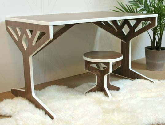 eco design, tree table furniture, April Hannah, eco designer, furniture design, green furniture, eco furniture, sustainable design, green design, bklyn designs, new york design week, green furnishings, sustainable interiors, April Hannah Furniture