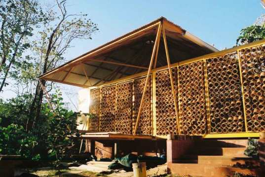 Son Builds His Mother a Quaint Bamboo Retreat | Inhabitat - Green ...