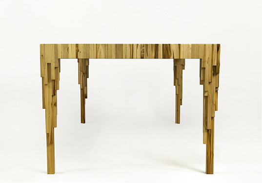 sustainable wood, renewable materials, renewable wood, renewable forests, FSC certified, godoylab, emiliano godoy, drip table, green furniture, sustainable furniture