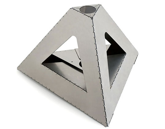 origami, industrial, maufacturing, sustainable manufacturing, metal, metals, green