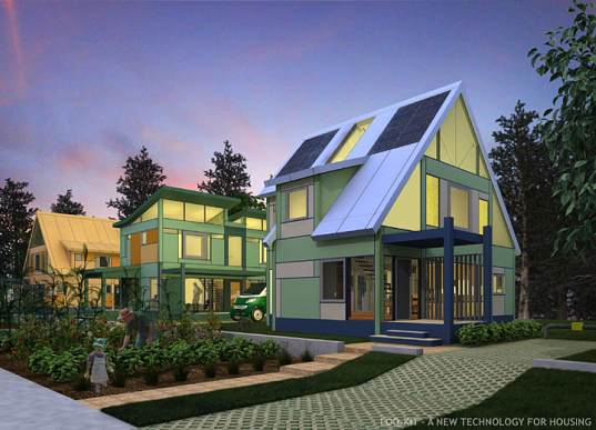 Loq Kit Homes Feature Modular And Interchangeable Part Inhabitat Green Design Innovation