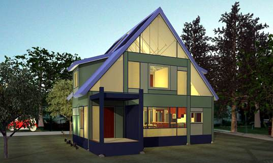 Loq kit homes feature modular and interchangeable part for Green kit homes