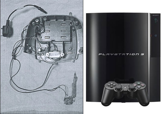 The creator of the DIY tattoo gun had stripped down the Playstation console