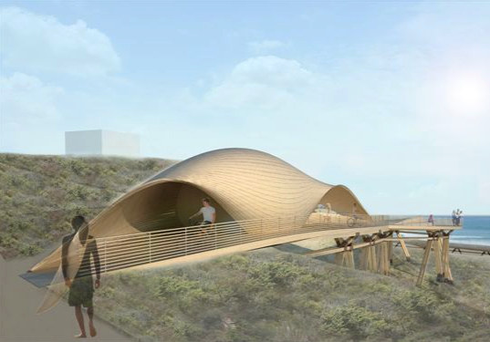 save trestles, safe trestles, trestles surf break, trestles beach, california, southern california, fragile ecosytem, safe access, surfers, Cut back Hills, open architecture network, 24 degree studio, eco design, green design, sustainable building