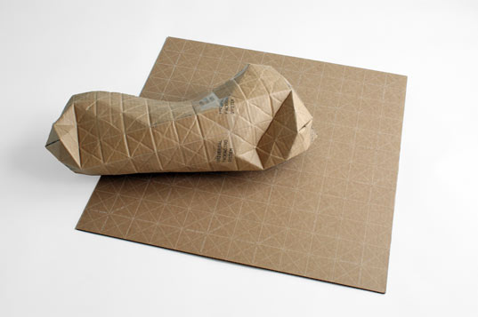Ingenious Cardboard Packaging Folds to Fit Parcels of Any Shape