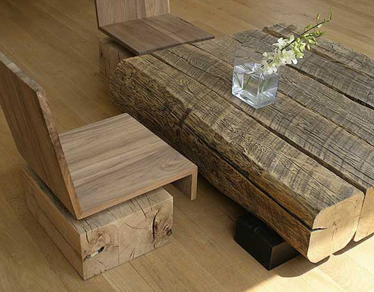 André Joyauu0027s Salvaged Wood Furniture Celebrates Reclaimed Materials |  Inhabitat   Green Design, Innovation, Architecture, Green Building