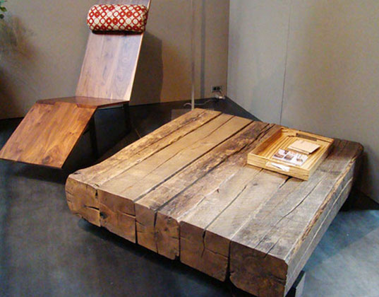 Modern Wood Furniture modern reclaimed wood furniture | wb designs
