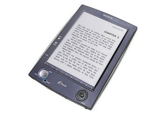 green gadgets, green technology, ipad, apple, sony, e reader, daily edition, sony to launch new e reader, japan, ebook, tokyo, asahi shinbun, green design, eco design, sustainable design