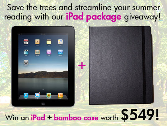 bamboo, DODOcase, eco friendly iPad case, hand made products, iPad, iPad accessories, ipad, e reader, e book reader, apple, mac, green gadgets, giveaway, free stuff