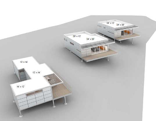 ASUL, modular housing, modular housing system, steel frame, customization, prefab housing, dwell on design, green design, green building, eco design, sustainable building