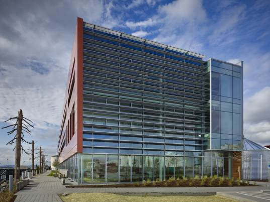 tacoma, center for urban waters, city of tacoma, washington, perkins+will, perkins and will, green building, LEED, LEED certification, LEED Platinum, architecture, green architecture, smart building, living laboratory, green roof, rainwater collection, energy efficiency, daylighting, green design, eco design, sustainable building