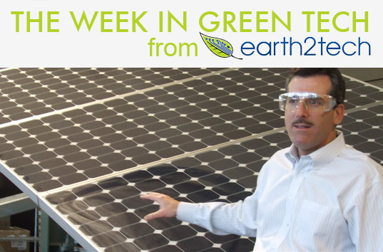 The Week in Green From Earth2TEch, June 19th