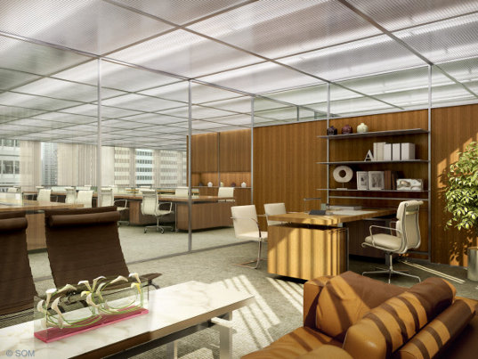 Eco Renovation som and frank gehry team up for inland steel eco renovation
